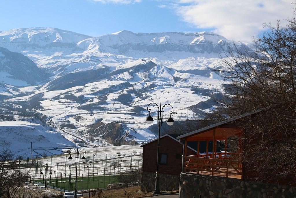 Caucasus Mountains. Qusar, Azerbaijan