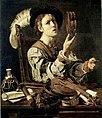 Cecco del Caravaggio Joven con instrumentos musicales NG Atenas.jpg