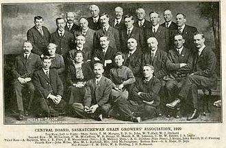 Saskatchewan Grain Growers' Association - Central Board, Saskatchewan Grain Growers Association, 1920