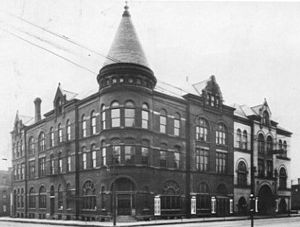 Northwest Davenport Turner Society Hall - Central Turner Hall (1888) near downtown Davenport