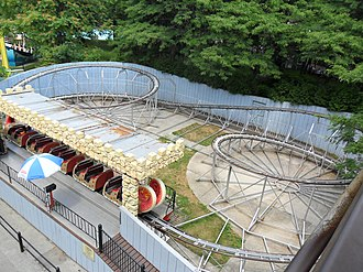 Centreville Amusement Park - Toronto Island Monster was a miniature roller coaster that existed at the park from 1995-2013.