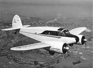 Cessna AT-17 Bobcat - A T-50 in flight