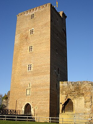 Montaner Castle, France