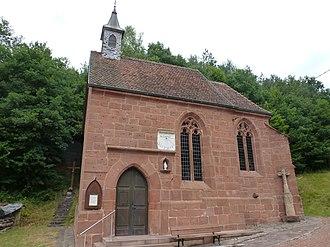 Mouterhouse - The chapel in Mouterhouse