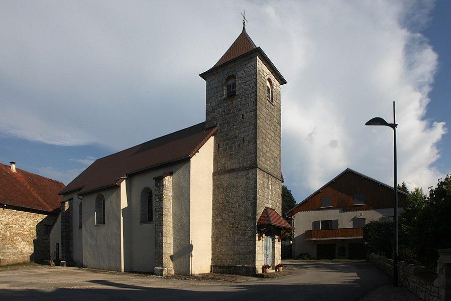 Église de Charbonnières-les-Sapins (Doubs).