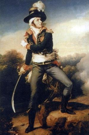 François de Charette - François Athanase de Charette de la Contrie, by Jean-Baptiste Paulin Guérin