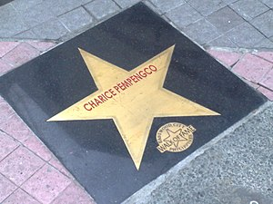 "Jake Zyrus - Zyrus's star, bearing the name ""Charice Pempengco"", a name he was known as prior to his gender transition, in the Eastwood City Walk of Fame, the Philippine equivalent of the Hollywood Walk of Fame."