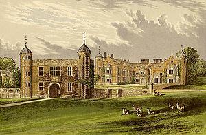 Charlecote Park - Charlecote Park circa 1880