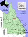 Charters Towers,Queensland carte.png