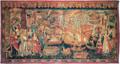 Chegada de Vasco da Gama a Calecute ou Cochim - Tapeçaria à maneira de Portugal e da Índia (Colecção da Caixa Geral de Depósitos).png