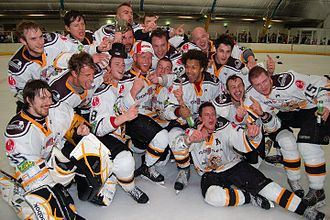Chelmsford Chieftains - The Chieftains after their ENL1 South play-off win over Wightlink Raiders.