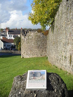 Chepstow Port Wall Grade I listed urban defence in the United Kingdom