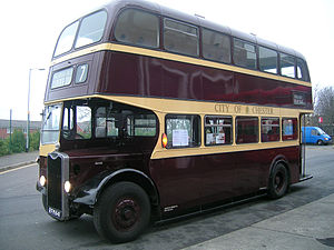 Massey Brothers - A Massey-bodied Guy Arab bus