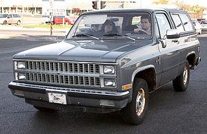 Chevrolet K5 Blazer - 1981–1982 K5 Blazer