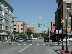 Cheyenne, Wyoming - Image: Cheyenne WY downtown