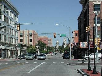 Front Range Urban Corridor - Image: Cheyenne WY downtown