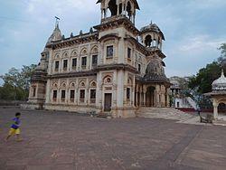 Chhatri, memorial building for the last Scindia Maharajas