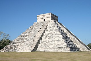 El Castillo, Chichen Itza pyramid in Chichén Itzá