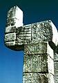Chichen Itza Guerreros Snake Pillar.jpg