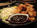 Chicken karaage and ponzu sauce by VirtualErn in Emeryville.jpg