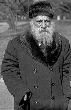 Chief Rabbis Abraham Yudelovitch & G. Wolf Margolis. 1925. npcc.15087.III. Abraham Yudelovitch.jpg