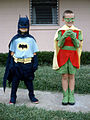 Children dressed as Batman and Robin, 1966.jpg