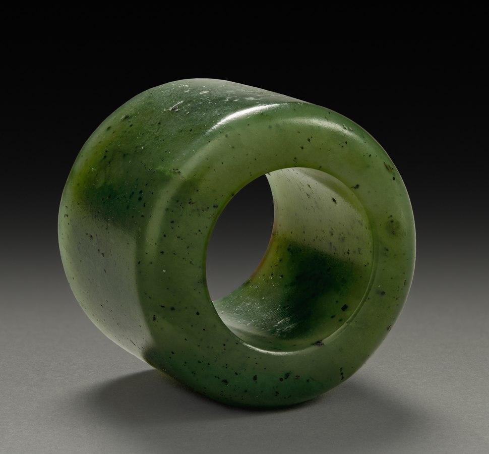 China, Qing dynasty (1644-1912), Qianlong reign - Thumb Ring - 1970.140 - Cleveland Museum of Art