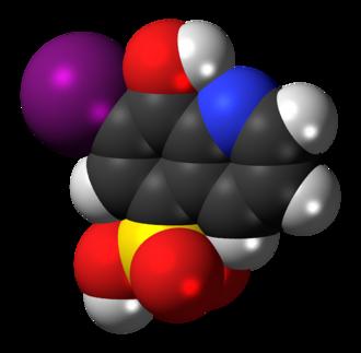 Chiniofon - Image: Chiniofon 3D spacefill