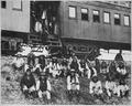 Chiricahua Apache prisoners, including Geronimo, 1886 - NARA - 530797.tif