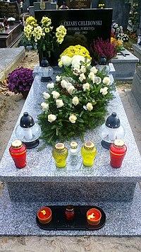 Chlebowski Cezary grave 2.jpg