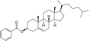 Cholesteryl benzoate.png