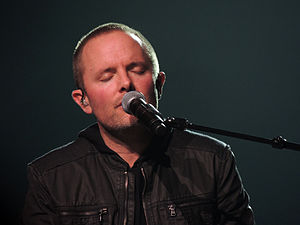 Chris Tomlin - Chris Tomlin performing at the Scottrade Center in 2013.