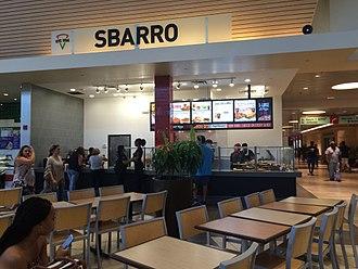 Sbarro - Sbarro at the Christiana Mall in Newark, Delaware