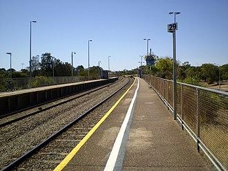 Christie Downs railway station - Image: Christie Downs Railway Station Adelaide