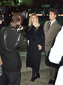 Applegate attending the Governor's Ball following the 41st Annual Emmy Awards, September 1989
