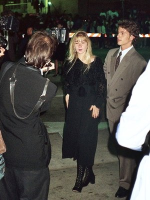 Christina Applegate - Applegate attending the Governor's Ball following the 41st Annual Emmy Awards, September 1989