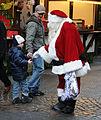 Christmas Market Kaiserslautern 2009 Santa Claus.jpg