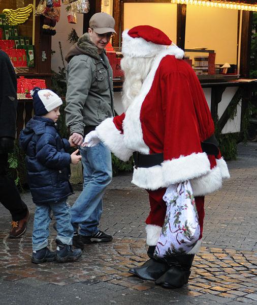 File:Christmas Market Kaiserslautern 2009 Santa Claus.jpg