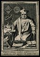 Christopher Clavius. Line engraving by I. le Clerc. Wellcome V0001151.jpg