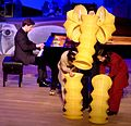 Christopher Hinterhuber (piano), Karin Schäfer Figurentheater, 'Waltz for a young elephant', 2008.jpg