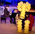 Christopher Hinterhuber (piano), Karin Schäfer Figurentheater, 'Waltz for a young elephant', 2008.jpg