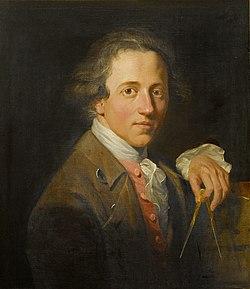 Christopher william hunneman   portrait of sir john soane