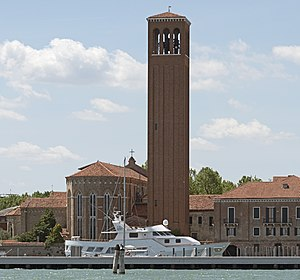 Sant'Elena - Image: Church Sant'Elena (Venice) Apse and tower