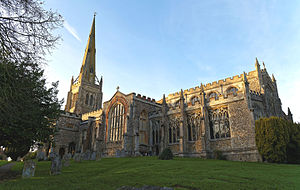 Thaxted - Image: Church of St John Thaxted, Essex England from southeast