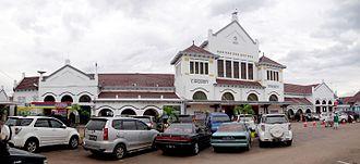 Cirebon - Image: Cirebon Kejaksan Station