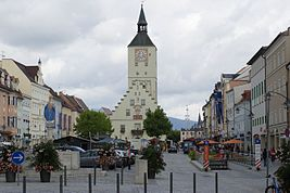 City center of Deggendorf, Bavaria.jpg