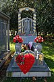City of London Cemetery and Crematorium polished grey grave monument.jpg