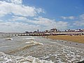 Clacton Beach looking towards the Martello Tower - geograph.org.uk - 1462645.jpg