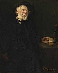 A Good Story (Portrait of Robert Loftin Newman)