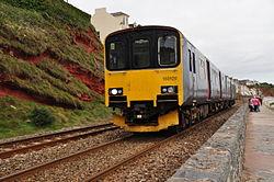 Class 150 on the sea wall near Dawlish (7244).jpg